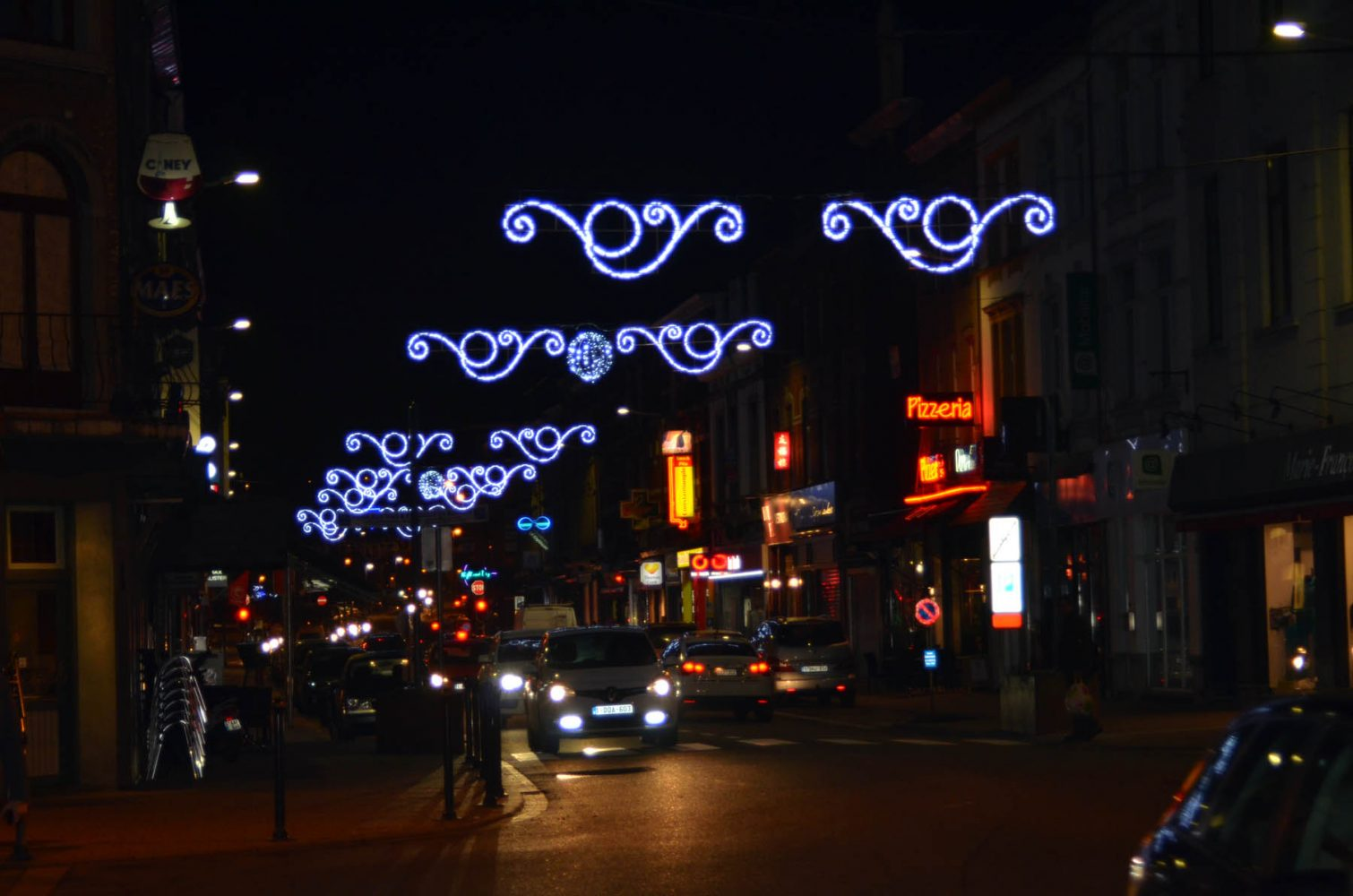 Inauguration des illuminations de Noël 2015