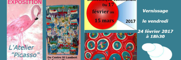 Exposition – Atelier «Picasso»