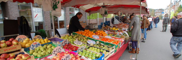 Marché hebdomadaire d'Andenne – Plan « Hiver » jusque fin mars